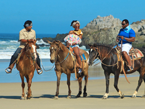Pacific Beach Horseback