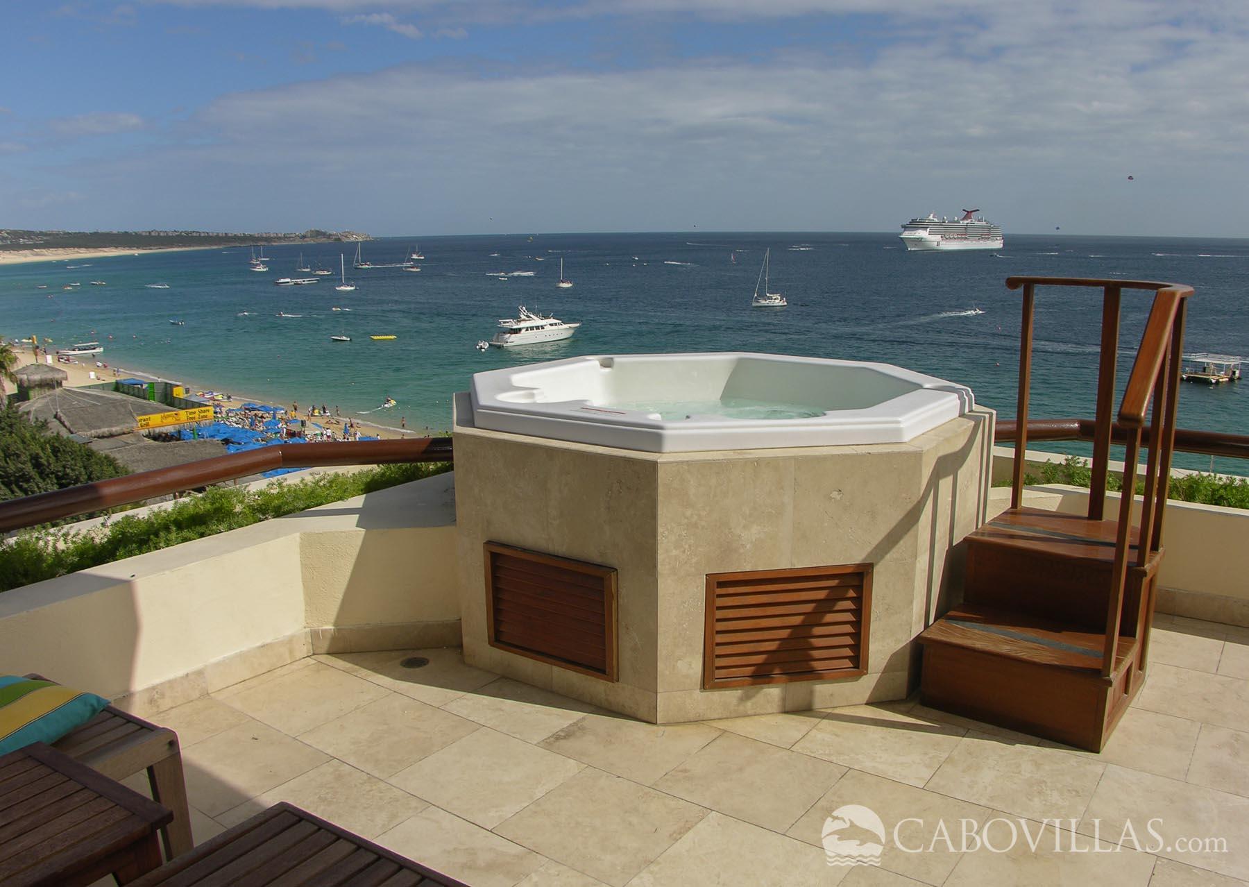 Cabo Villas Beach Resort 5 Bedroom Oceanfront Penthouse
