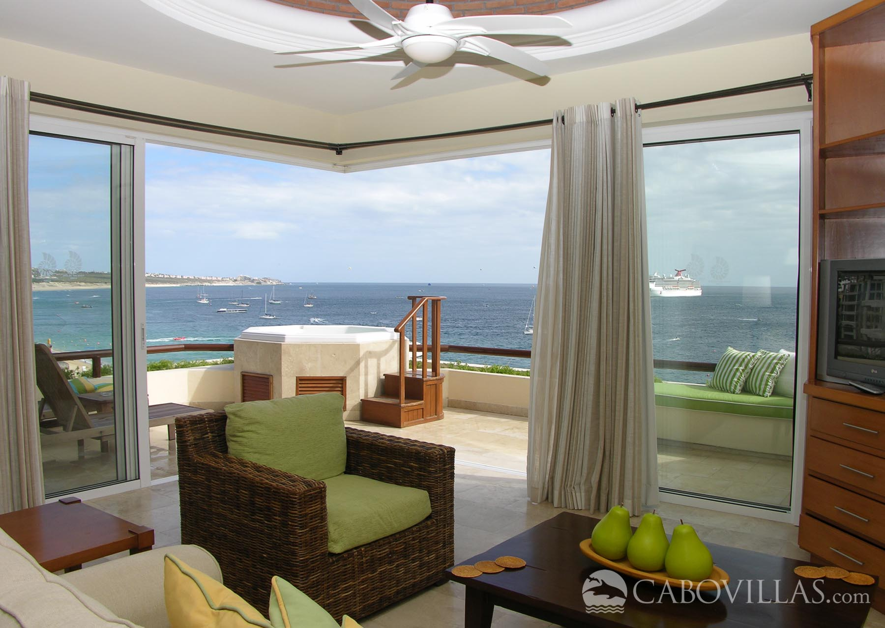 Cabo Villas Beach Resort 5 Bedroom Oceanfront Penthouse