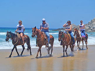 Horseback riding tours in Cabo San Lucas