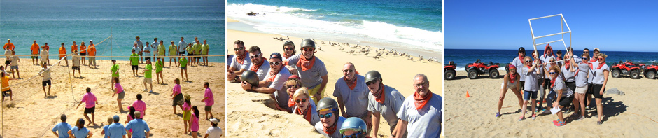 team building activities in Los Cabos Mexico
