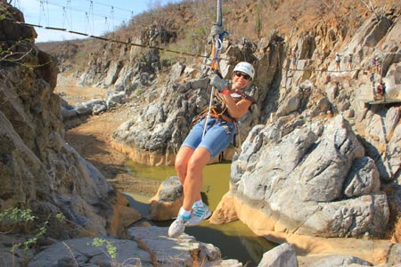 zip line adventures in Cabo San Lucas
