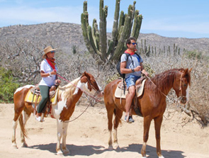 horseback riding tours in Los Cabos Mexico
