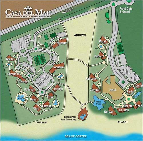 Casa Del Mar Condominiums Cabo San Lucas Mexico