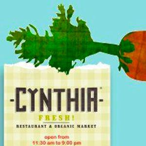 Cynthia Fresh Organic Restaurant logo