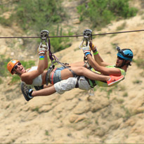 Wild Canyon Los Cabos Zip Line Bungee Jump