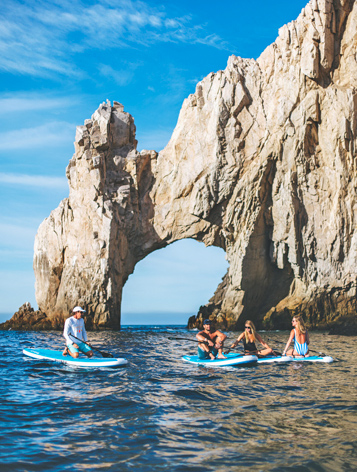 stand up paddle in Los Cabos