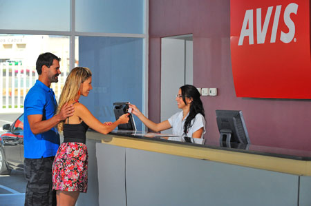 Avis Free Car Rental in Los Cabos Mexico