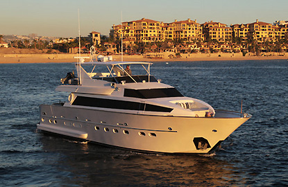 private yacht charters in Los Cabos Mexico