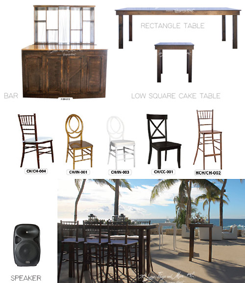 Cabo Event Decor for Dinner Parties and Special Events in Los Cabos Mexico