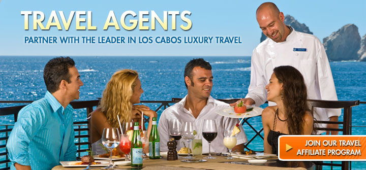 Travel Agents - Parnter with Earth, Sea and Sky Vacations, Leader in Los Cabos Luxury Vacations